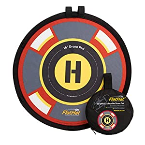 FlatHat - Drone Pad Plegable, Multicolor