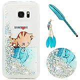 97a7221f55030 Cover Bling per Samsung Galaxy S7 Edge Custodia Liquido Silicone TPU Gomma  iAdvantec Custodia Morbida Flessibile