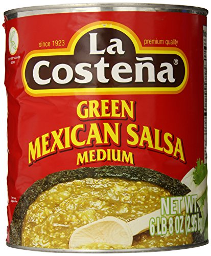 La Costena Original mexicanische Salsa Verde, 1er Pack (1 x 2.95 kg)