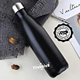 Frabble8 Double Wall Vacuum Insulated Stainless Steel Cola Water Bottle , Travel Thermos