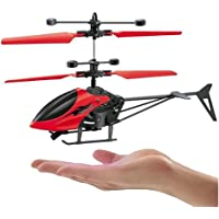 Vikas gift gallery Induction Flight Without Remote Control Chargeable Helicopter Toy for Kids | Boys ( Multicolor)