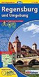 ADFC-Regionalkarte Regensburg und Umgebung mit Tagestouren-Vorschlägen, 1:75.000, reiß- und wetterfest, GPS-Tracks Download (ADFC-Regionalkarte 1:75000) -