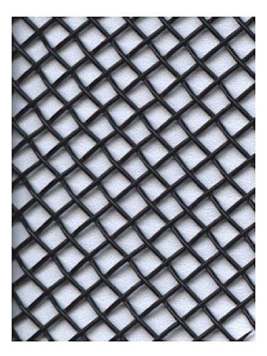 Amaco 50118F WireForm Metallgeflecht, Minipackung mit Bögen, schwarz beschichtet (Metall-mesh-bogen)