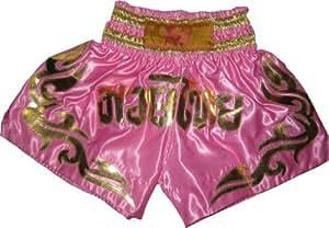Short boxe Thai Rose Taille S