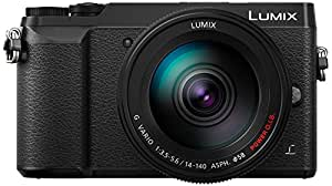 Panasonic Lumix DMC-GX80HEGK Kit Fotocamera Mirrorless GX80 e Obiettivo 14-140mm, 16MP, Post Focus, 4K Photo & 4K Video, Nero
