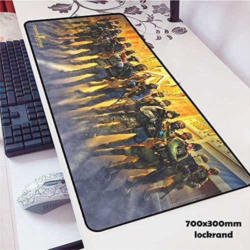Mauspad hohe Qualle Mauspad Spieler Mauspad Spiel Computer Desktop Mauspad große Tischmatte für Spieler zu Spielen 4 900x300x2