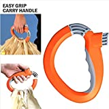 One Trip Grip Bag Handle Grocery Carrier...