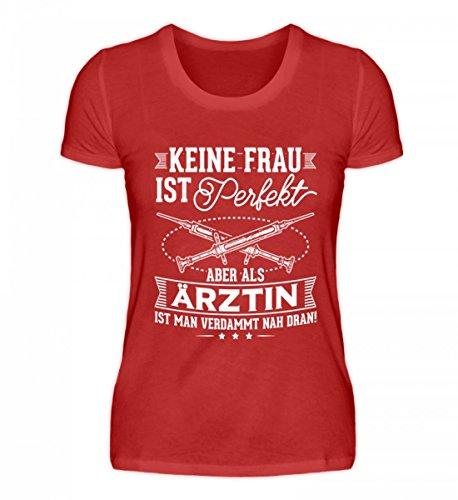 (Chorchester Hochwertiges Damenshirt - Ärztinnen Aufgepasst!)