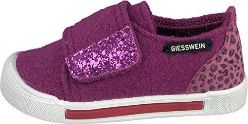 Giesswein Mädchen Schönefeld Hausschuhe Violett (Traube)