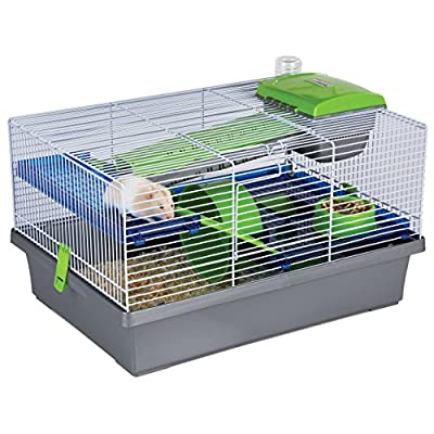 Rosewood Pico Hamster Cage, Silver by Rosewood