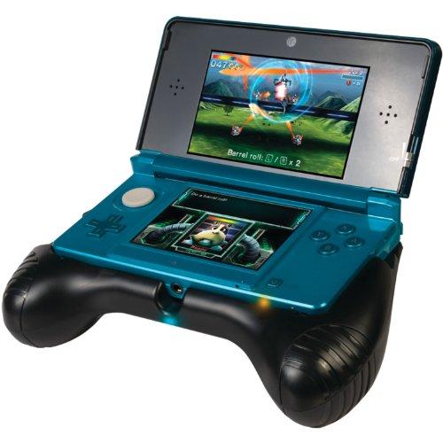 3DS Deluxe Power-Halterung mit integriertem Akku & Aufsteller, Schwarz (3ds-docking-station)