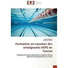 Formation en natation des enseignants dEPS en Tunisie