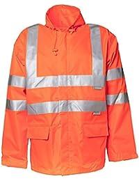 """Planam Regen-Jacke """"Warnschutz"""", Größe XXL in orange, 1 Stück, 2061060"""