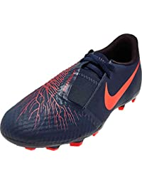 Nike - Botas de fútbol de Sintético para niño Azul Obsidian/White-Black-