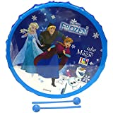 Musical Toy Marching Snare Drum Set For Kids Musical Instrument For Boys & Girls - 10 Inches Diameter Disney Frozen Theme