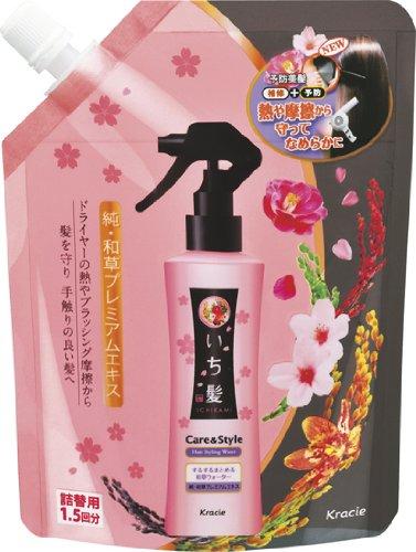 Kracie Ichikami Care & Style Hair Water (Refill) 300ml (japan import)