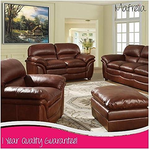 mafrelia facile manuale reclinabile divano in pelle