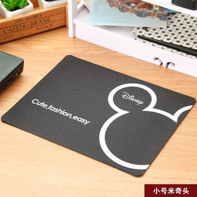 Möbel täglichen Bedarfs WWYXHQC Kreative Persönlichkeit Korea Cartoon Maus Pad schönen kleinen Dicken slip Gaming-PC Office Home Mauspad ,4612 kleine Mickey Kopf