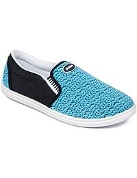 Asian Shoes ALPHA-21 Sky Blue Men Casual Shoes