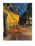 1art1 36168 Vincent Van Gogh - Café -Terrasse Am Abend Poster Kunstdruck 50 x 40 cm