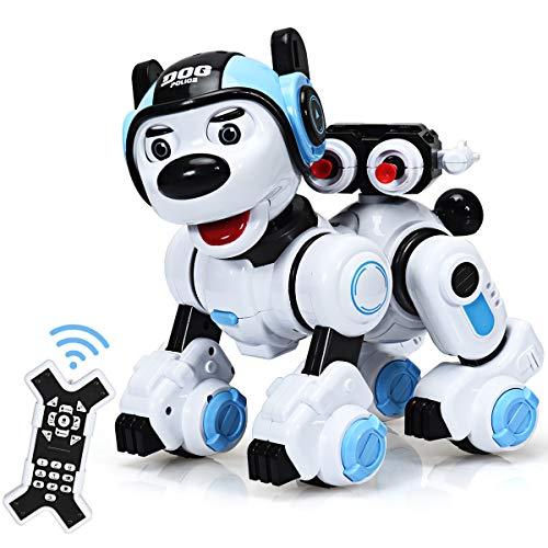 COSTWAY Ferngesteuert Hund Roboter, Roboterhund intelligent, Hundespielzeug...