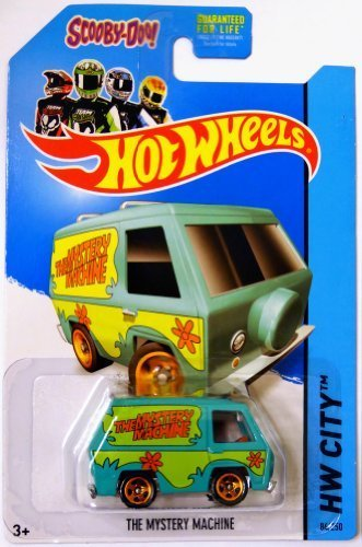 2014 Hot Wheels The Mystery Machine Scooby Doo (84/250) by Mattel (English Manual)