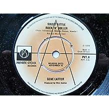 """Latter, Gene Sweet Little Rock N Roller 7"""" Private StockPVT4 EX 1974 demo"""