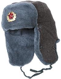 Authentique armée russ'Ushanka URSS? e soldat Bonnet d'hiver