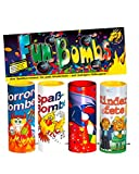 Horror-Shop Fun Bombs 4er Set Jugendfreies Tischfeuerwerk