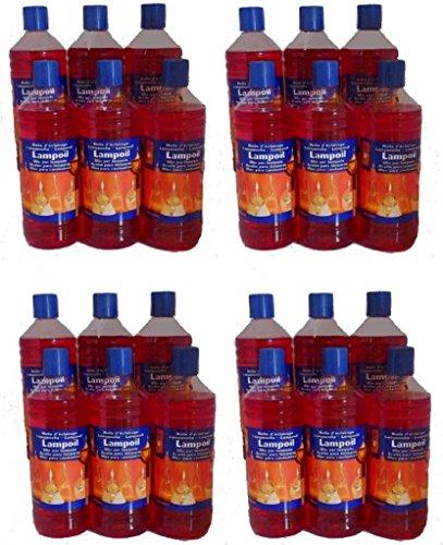 Huile de paraffine rouge 24L (24 x 1L)