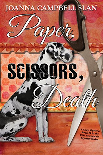 Book cover image for Paper, Scissors, Death: Book #1 in the Kiki Lowenstein Mystery Series