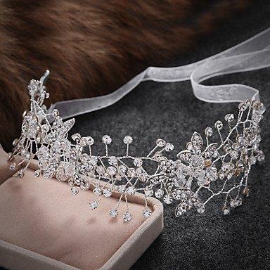 Frauen Legierung / Imitation Perle Kopfschmuck Hochzeit / besondere Anlässe / lässig Diademe / Stirnbänder / Leiter Kette / Haar Tool 1 Stück