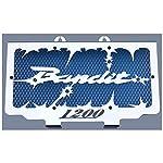 """Kühlerverkleidung / Kühlerabdeckung Suzuki GSF 1200 Bandit 96>00 """"Hold up"""" + blaues Schutzgitter"""