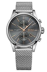 HUGO BOSS Men's Chronograph Quartz Watch with Stainless Steel Bracelet - 1513440