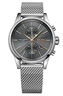 HUGO BOSS Men's Chronograph Quartz Watch with Stainless Steel Bracelet - 1513440