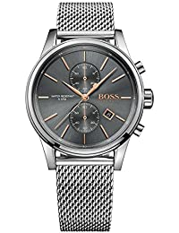 HUGO BOSS Men's Chronograph Quartz Watch with Stainless Steel Bracelet – 1513440