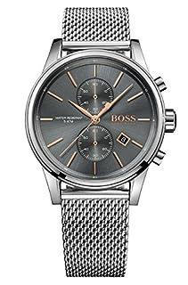 Hugo BOSS Herren-Armbanduhr 1513440, Stahl/Grau (B01K9BSBLE) | Amazon price tracker / tracking, Amazon price history charts, Amazon price watches, Amazon price drop alerts