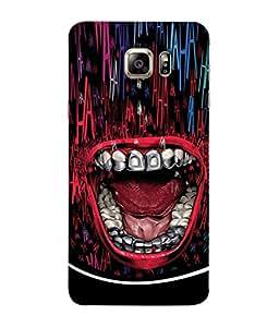 PrintVisa Saber Teeth 3D Hard Polycarbonate Designer Back Case Cover for Samsung Galaxy S6 G920I :: Samsung Galaxy S6 G9200 G9208 G9208/Ss G9209 G920A G920F G920Fd G920S G920T