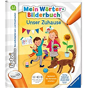 51Cp6RUFvPL. SS300  - tiptoi® Mein Wörter-Bilderbuch: Unser Zuhause
