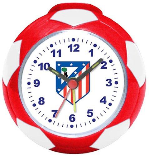 Atlético de Madrid - Reloj despertador, 8 cm (Seva 4902004)