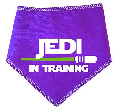 Spoilt Rotten Pets Halstuch, Design Jedi im Training mit Lichtschwert von Star Wars Jedi, Violett (Star Wars Miniatures Jedi)