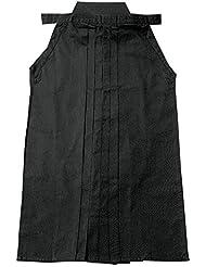 Fuji Mae - Hakama algodón, color negro, talla 25