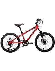 Moma Bikes BIG20RUN Bicicleta, Unisex Niños, Rojo, Talla Única