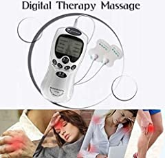 Digital Machine 2 Pads Meridian Therapy for Full Body Massager by Drake