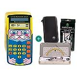 Texas Instruments / Calcuso TI Little Professor + Schutztasche + Geometrie-Set