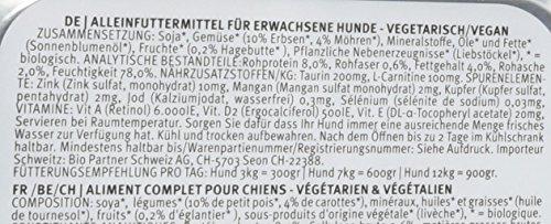Yarrah Vegetarische Bröckchen 150 g Bio Hundefutter, 14er Pack (14 x 0.15 kg) - 3