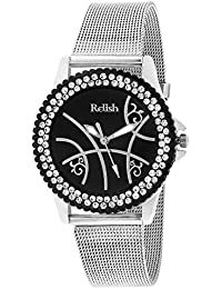 Relish RE-L039BS Metal Analog Watches for Girls, Women