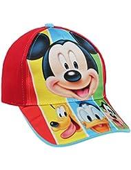 Mickey Gorra Disney para niños, color Rosa, talla única