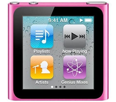 Apple iPod nano MP3-Player 8 GB (6. Generation, Multi-touch Display) pink