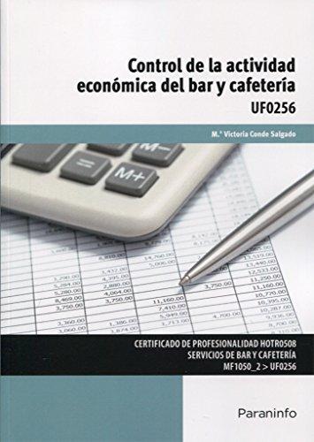 UF 0256 Control de la actividad económica del bar y cafetería por Mª VICTORIA CONDE SALGADO